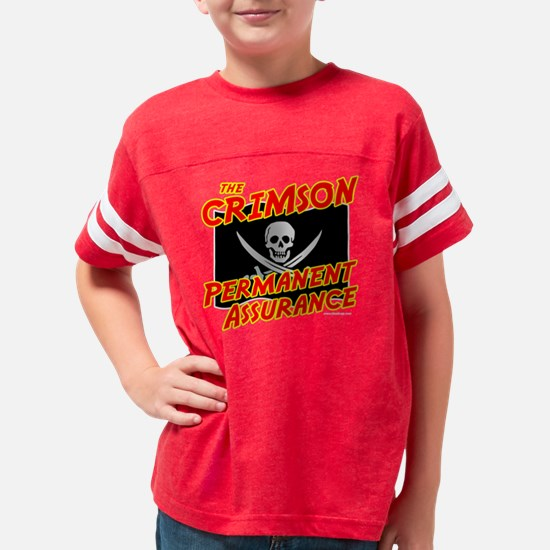 crimson_pa_yel_trans Youth Football Shirt
