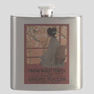 Madame Butterfly Puccini Flask