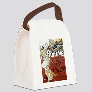 La Boheme Canvas Lunch Bag