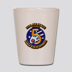 AAC - USAAF - 5th Air Force Shot Glass