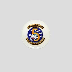 AAC - USAAF - 5th Air Force Mini Button