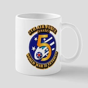 AAC - USAAF - 5th Air Force Mug