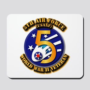 AAC - USAAF - 5th Air Force Mousepad
