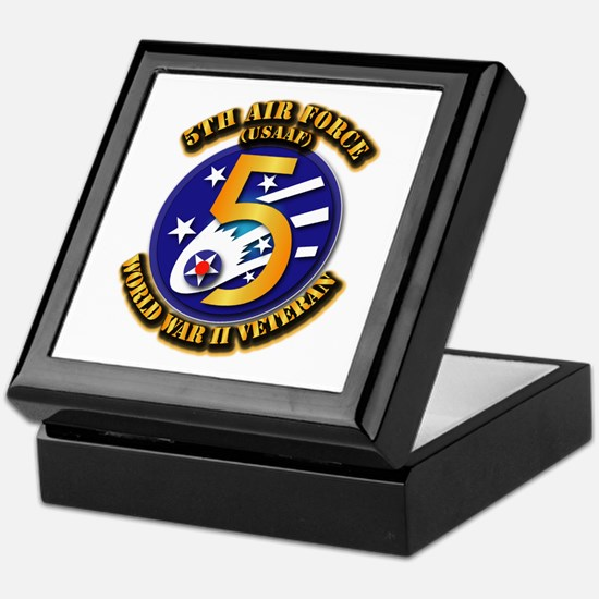 AAC - USAAF - 5th Air Force Keepsake Box