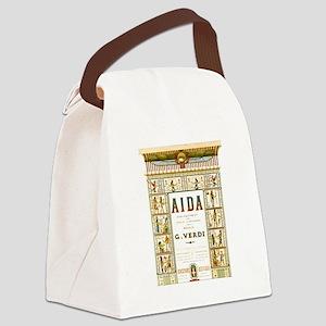 AIDA by G.Verdi Canvas Lunch Bag