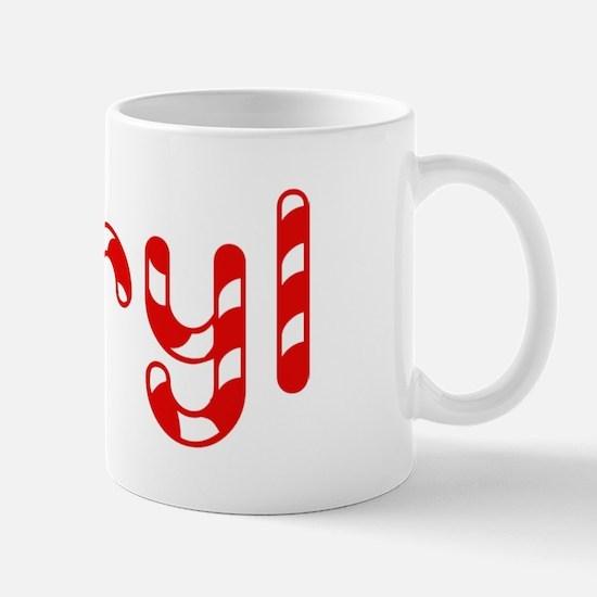 Daryl - Candy Cane Mug
