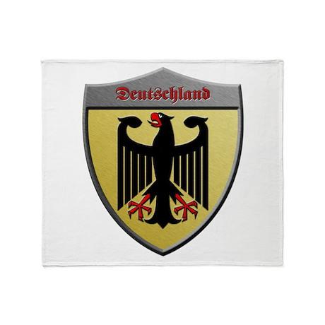 Germany Metallic Shield Throw Blanket
