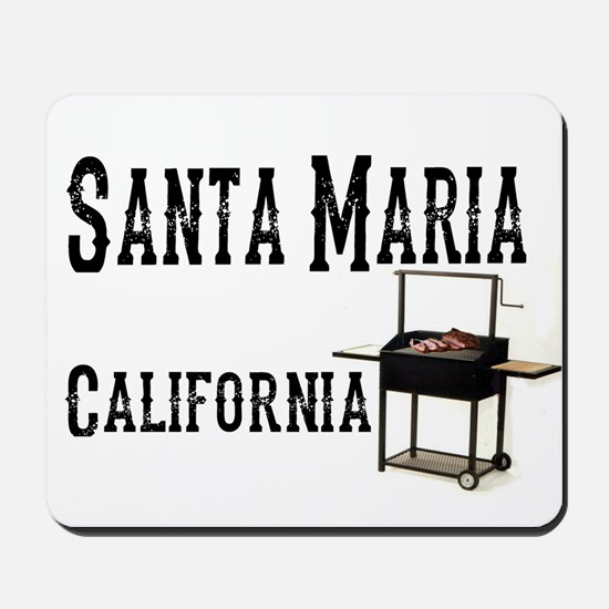 Santa Maria Style BBQ Mousepad