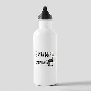 Santa Maria Style BBQ Water Bottle