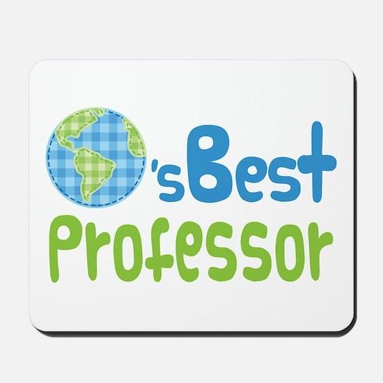 Earths Best Professor Mousepad
