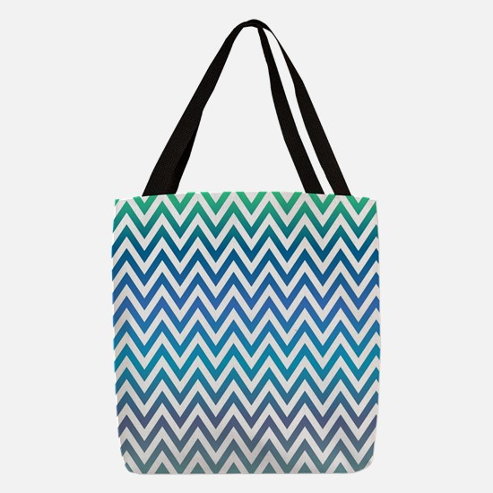 Cute Chevron Polyester Tote Bag