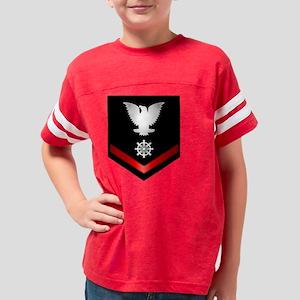 navy_e4_quartermaster Youth Football Shirt