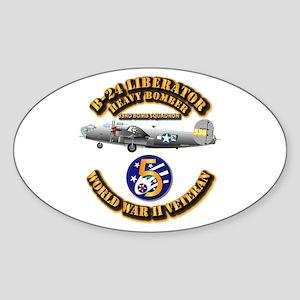 AAC - 22nd BG - 33rd BS - 5th AF Sticker (Oval)