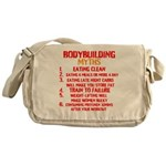 Bodybuilding Myths Messenger Bag