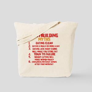 Bodybuilding Myths Tote Bag