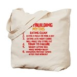 Bodybuilding Myths Tote Bag