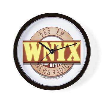 WNYX NewsRadio Wall Clock