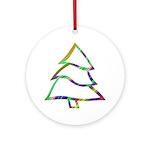 Dancin' Christmas Tree Ornament (Round)