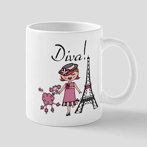 Red Haired Diva Mug