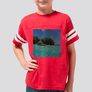 11x11 hut house Youth Football Shirt