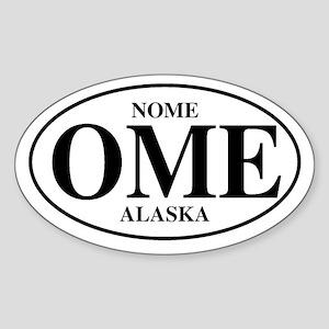 Nome Area Villages Oval Sticker