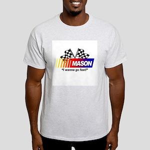 Racing - Mason Ash Grey T-Shirt