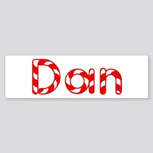 Dan - Candy Cane Bumper Sticker