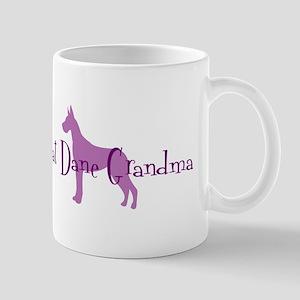 Great Dane Grandma Mug