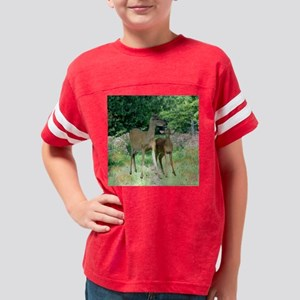 Ghost Impressions Doe w-fawn  Youth Football Shirt