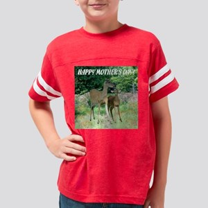 Ghost Impressions HAPPY MOTHE Youth Football Shirt