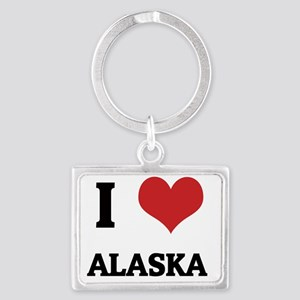 alaska Landscape Keychain