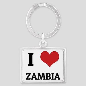 ZAMBIA Landscape Keychain