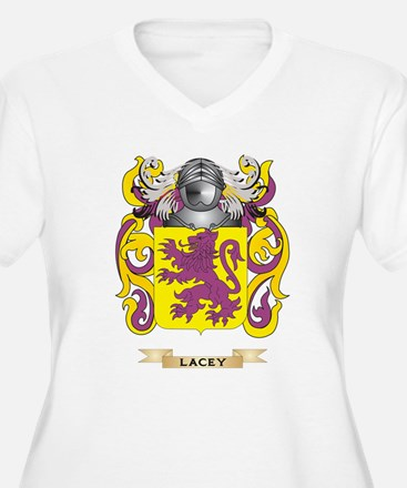 Lacey Coat of Arms - Family Crest Plus Size T-Shir