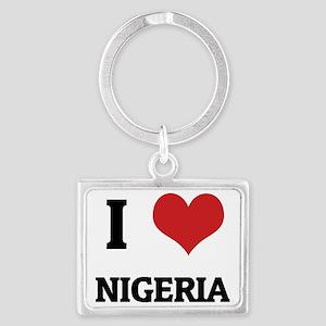 NIGERIA Landscape Keychain