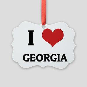 GEORGIA_ Picture Ornament