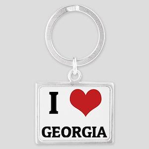 GEORGIA_ Landscape Keychain