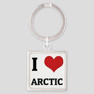 00 ARCTIC2 Square Keychain