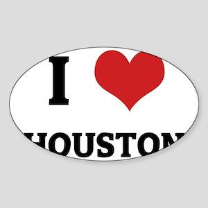 HOUSTON Sticker (Oval)