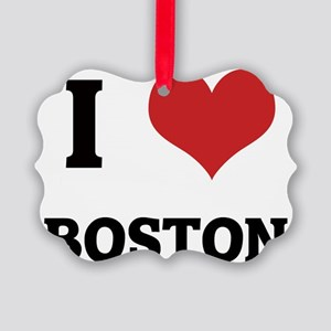BOSTON Picture Ornament