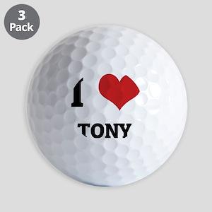 TONY Golf Balls