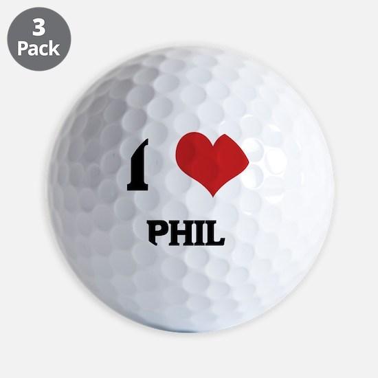 PHIL Golf Ball