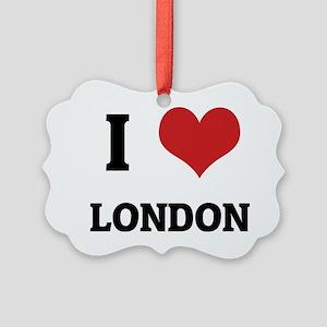 LONDON Picture Ornament