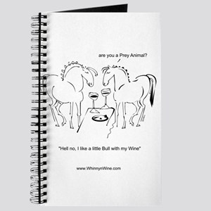 Whinny n Wine No Bull Journal