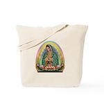 Guadalupe Yellow Aura Tote Bag