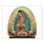 Guadalupe Yellow Aura Small Poster