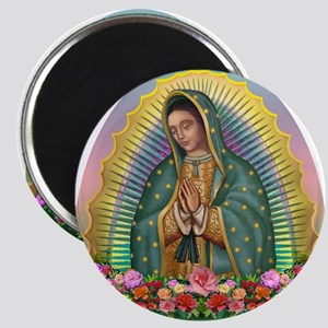 Guadalupe Yellow Aura Magnet Magnets