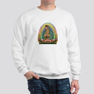 Guadalupe Yellow Aura Sweatshirt