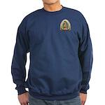Guadalupe Yellow Aura Sweatshirt (dark)