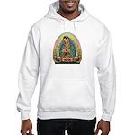 Guadalupe Yellow Aura Hooded Sweatshirt