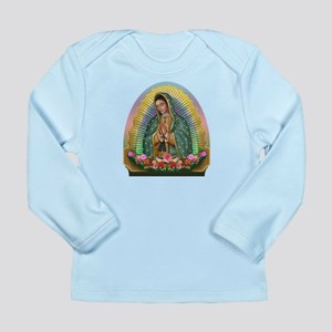 Guadalupe Yellow Aura Long Sleeve Infant T-Shirt